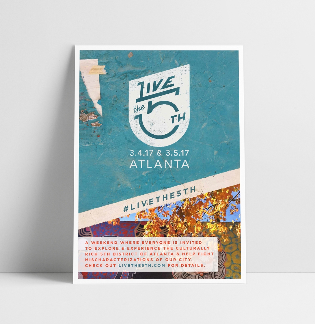 Live The 5th Poster Mockup