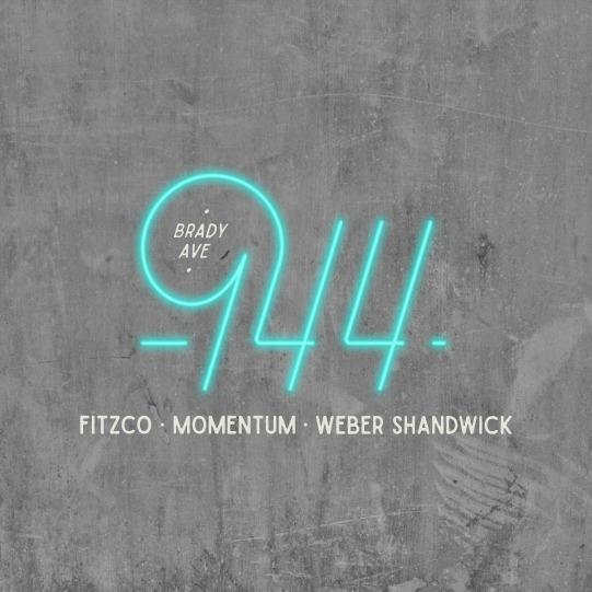 944 Monoline Logo Neon